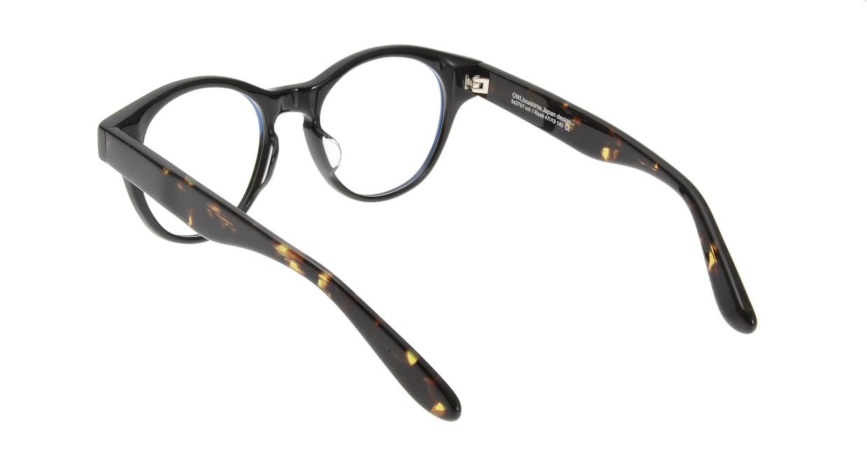 オウル boasorte BS2707 Raab-1.BLACK [黒縁/丸メガネ]  2