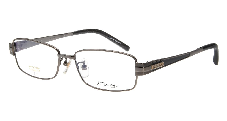 デュポン DP-3106-C-3-GR [メタル/鯖江産/スクエア/グレー]