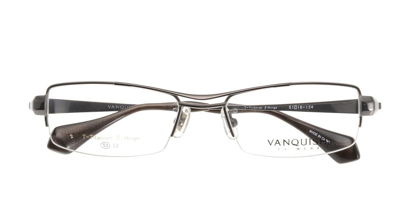 ヴァンキッシュ VQ-1046-C-2-GR [メタル/ハーフリム/スクエア/グレー]  3