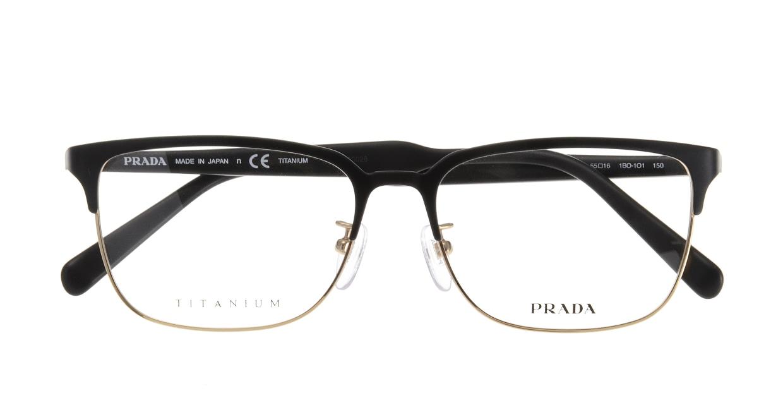 プラダ PR56TVD-1B0101 [メタル/鯖江産/ウェリントン]  3
