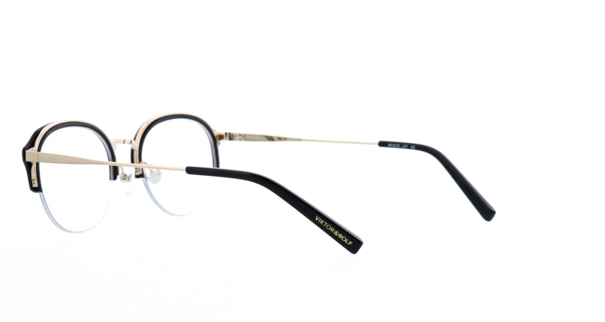 ヴィクター&ロルフ 70-0180-02 [黒縁/丸メガネ]  3