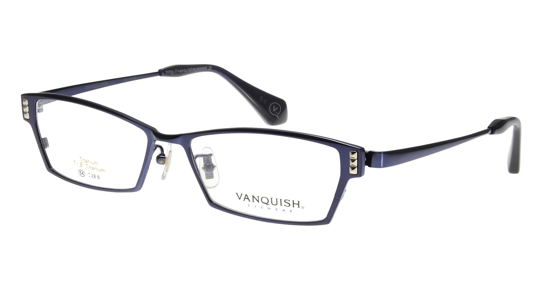 ヴァンキッシュ VQ-1070-C-3-NV [メタル/スクエア/青]