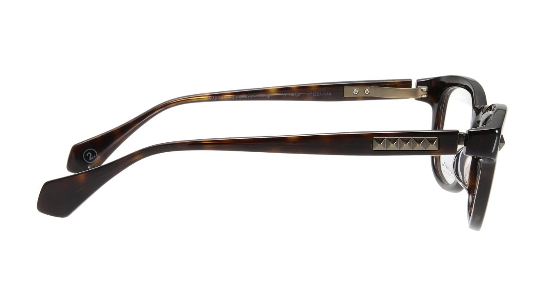 ヴァンキッシュVQ-5035-C-2-47-BR [メタル/鯖江産/ウェリントン/シルバー]  1