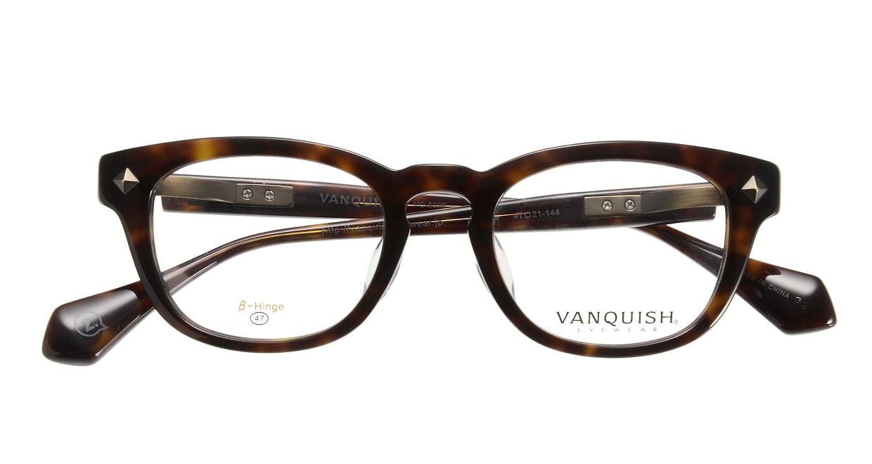 ヴァンキッシュVQ-5035-C-2-47-BR [メタル/鯖江産/ウェリントン/シルバー]  3