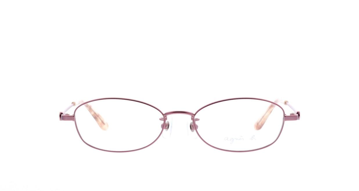 アニエスベー 50-0009-1 [メタル/オーバル/ピンク]