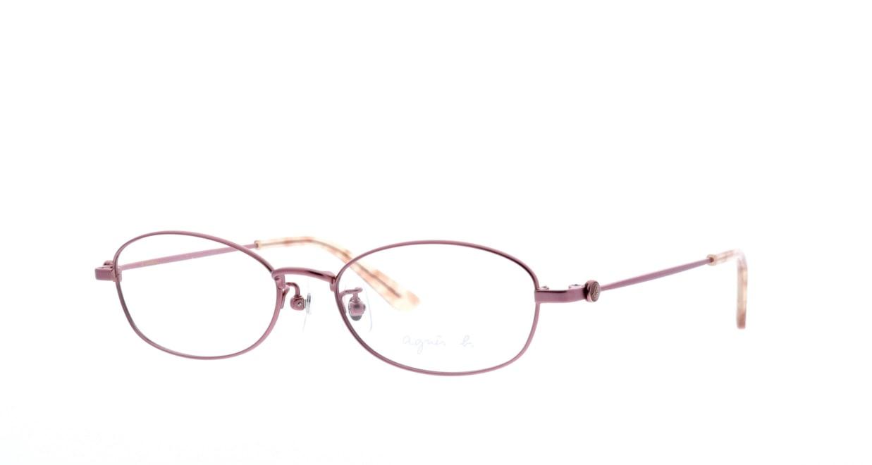 アニエスベー 50-0009-1 [メタル/オーバル/ピンク]  1