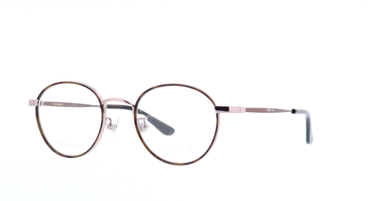 アニエスベー 50-0011-2 [メタル/丸メガネ/べっ甲柄]  1