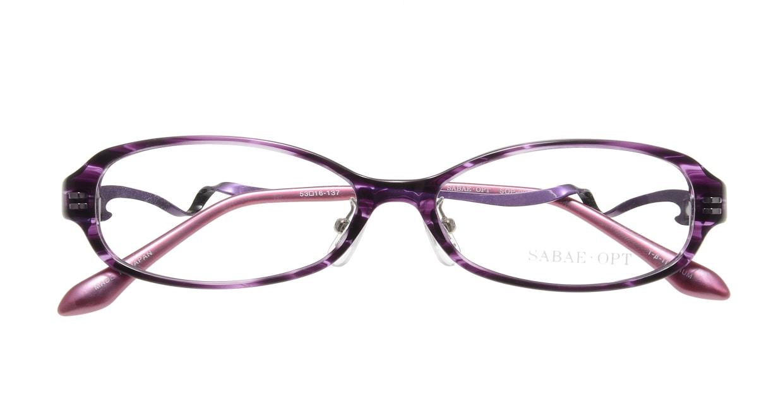 サバエオプト SOP-023-VI [鯖江産/オーバル/紫]  3