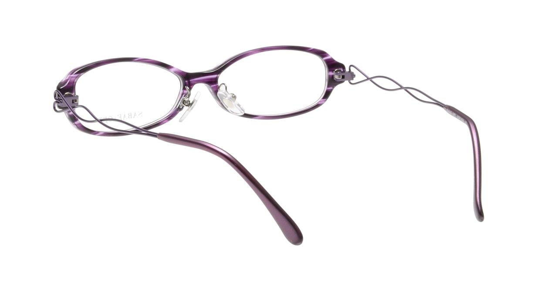 サバエオプト SOP-024-VI [鯖江産/オーバル/紫]  2