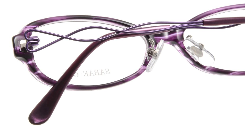 サバエオプト SOP-024-VI [鯖江産/オーバル/紫]  4