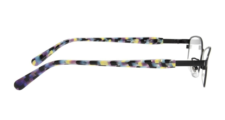 サバエオプト SOHG-401-BK [メタル/鯖江産/スクエア/青]  1