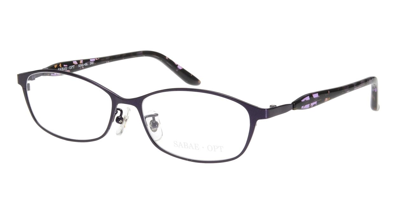 サバエオプト SOHG-406-DVI [メタル/鯖江産/オーバル/紫]