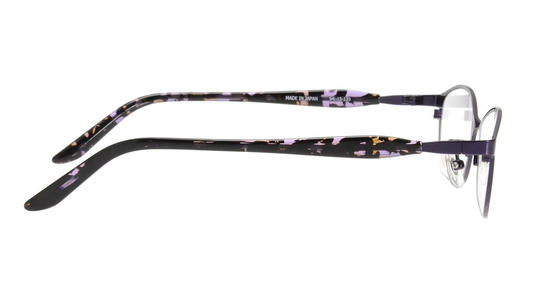 サバエオプト SOHG-406-DVI [メタル/鯖江産/オーバル/紫]  1