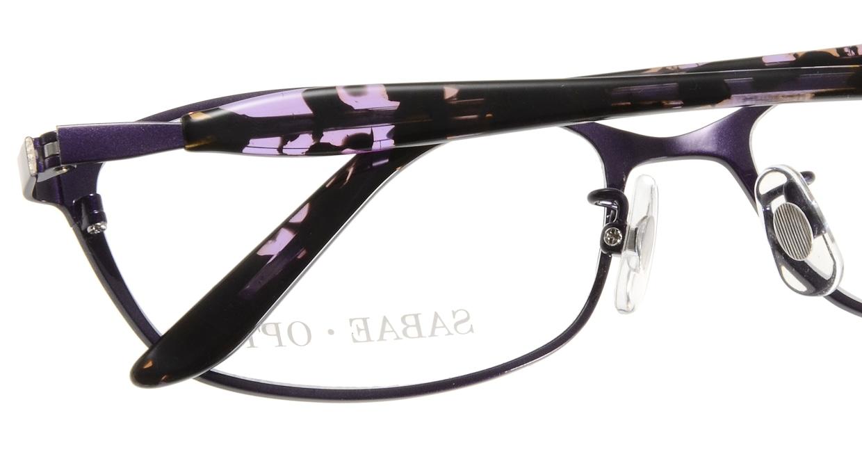 サバエオプト SOHG-406-DVI [メタル/鯖江産/オーバル/紫]  4