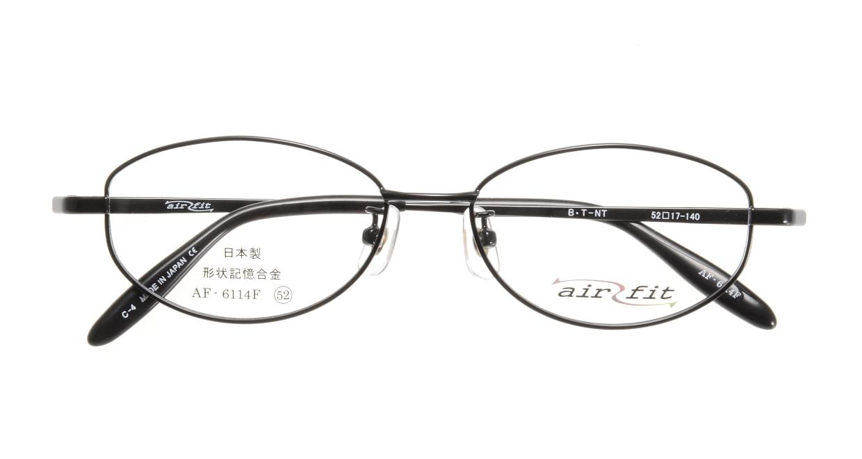 エアーフィット AF-6114-C-4 [メタル/鯖江産/オーバル]  3