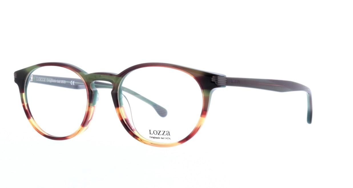 ロッツア VL-4139-0GG6-50 [丸メガネ/茶色]  1