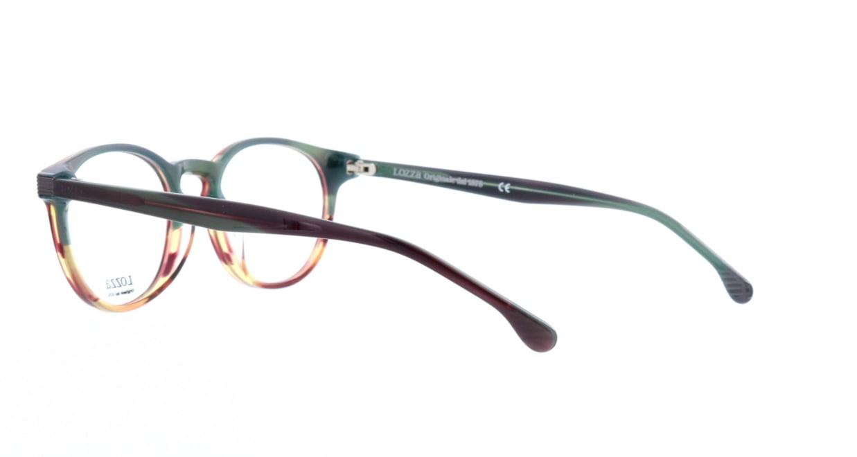 ロッツア VL-4139-0GG6-50 [丸メガネ/茶色]  3