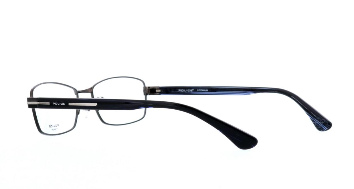 ポリス VPL-610J-BK10-54 [メタル/スクエア/グレー]  3