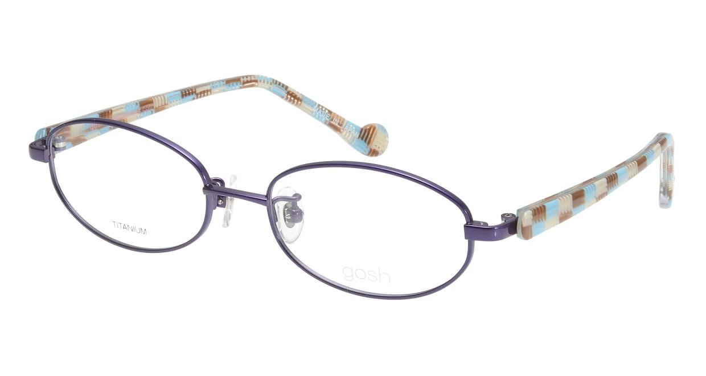 ゴッシュ gos-054-1 [メタル/鯖江産/オーバル/紫]