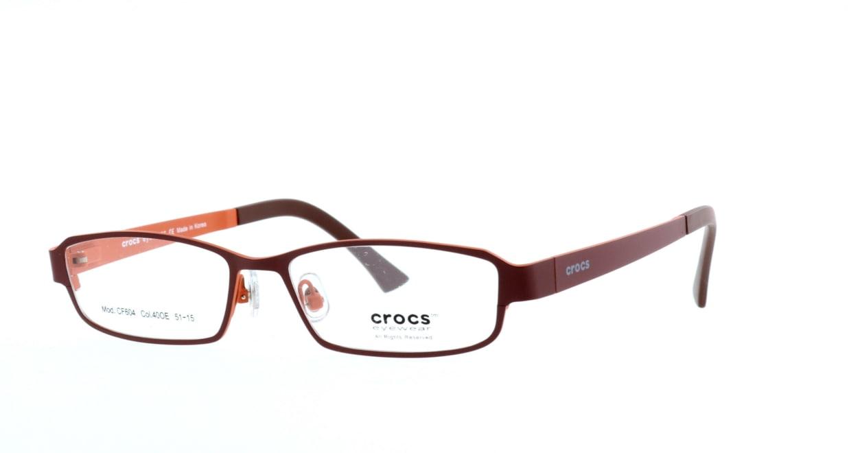 クロックスアイウェア CF604-40OE [メタル/スクエア/茶色]  1