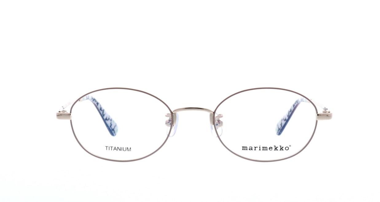 マリメッコ 32-0018-01 [メタル/オーバル/ベージュ]