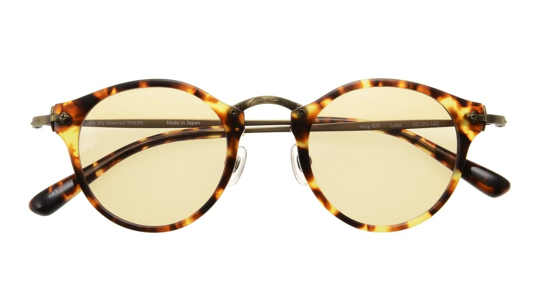 Oh My Glasses TOKYO Luke omg-025-22-12-sun [日本製・鯖江産/ラウンド]  3