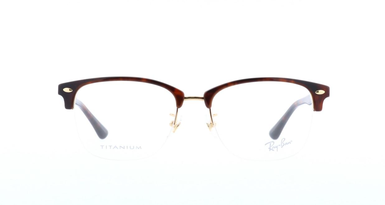 レイバン RX5357TD-2372-55 [ハーフリム/ウェリントン/べっ甲柄]