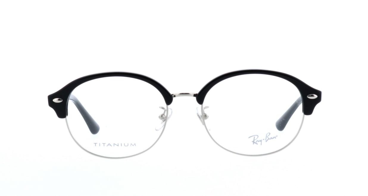 レイバン RX5358TD-2000-53 [黒縁/丸メガネ]