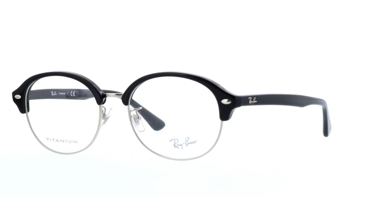 レイバン RX5358TD-2000-53 [黒縁/丸メガネ]  1