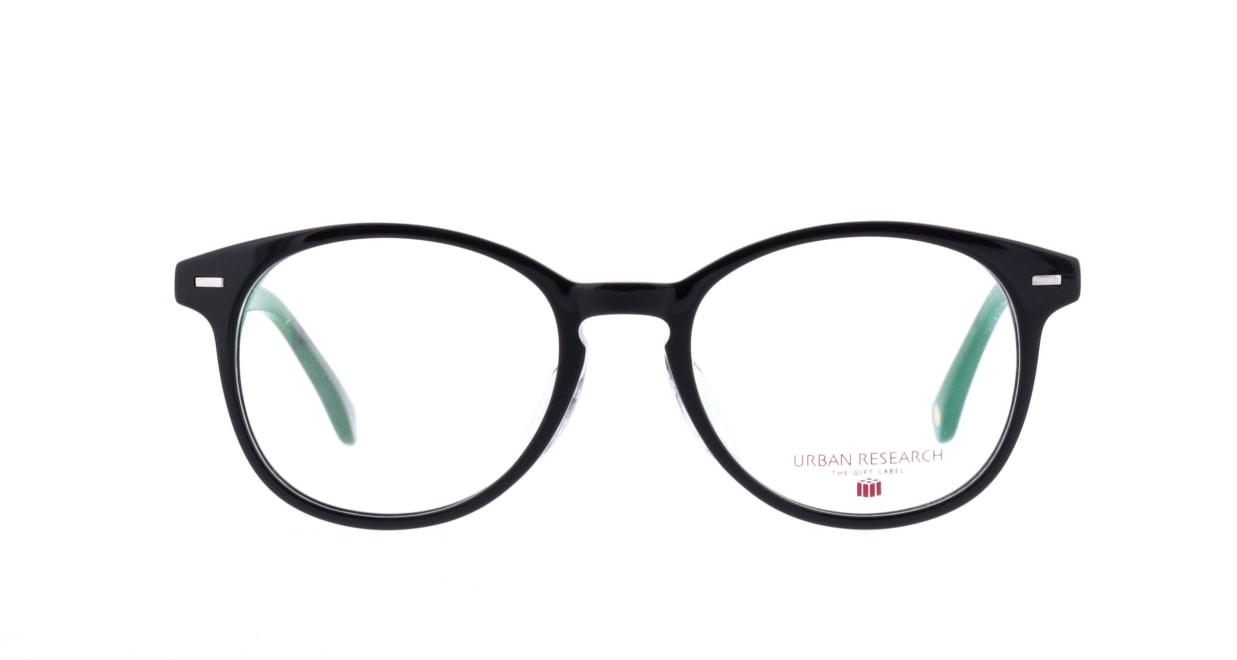 アーバンリサーチギフトレーベル URF-8006-1 [黒縁/丸メガネ/安い]