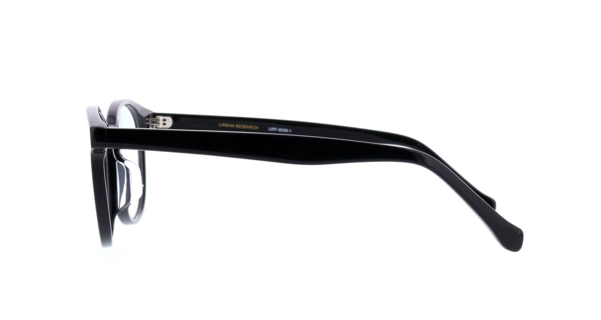 アーバンリサーチギフトレーベル URF-8006-1 [黒縁/丸メガネ/安い]  2