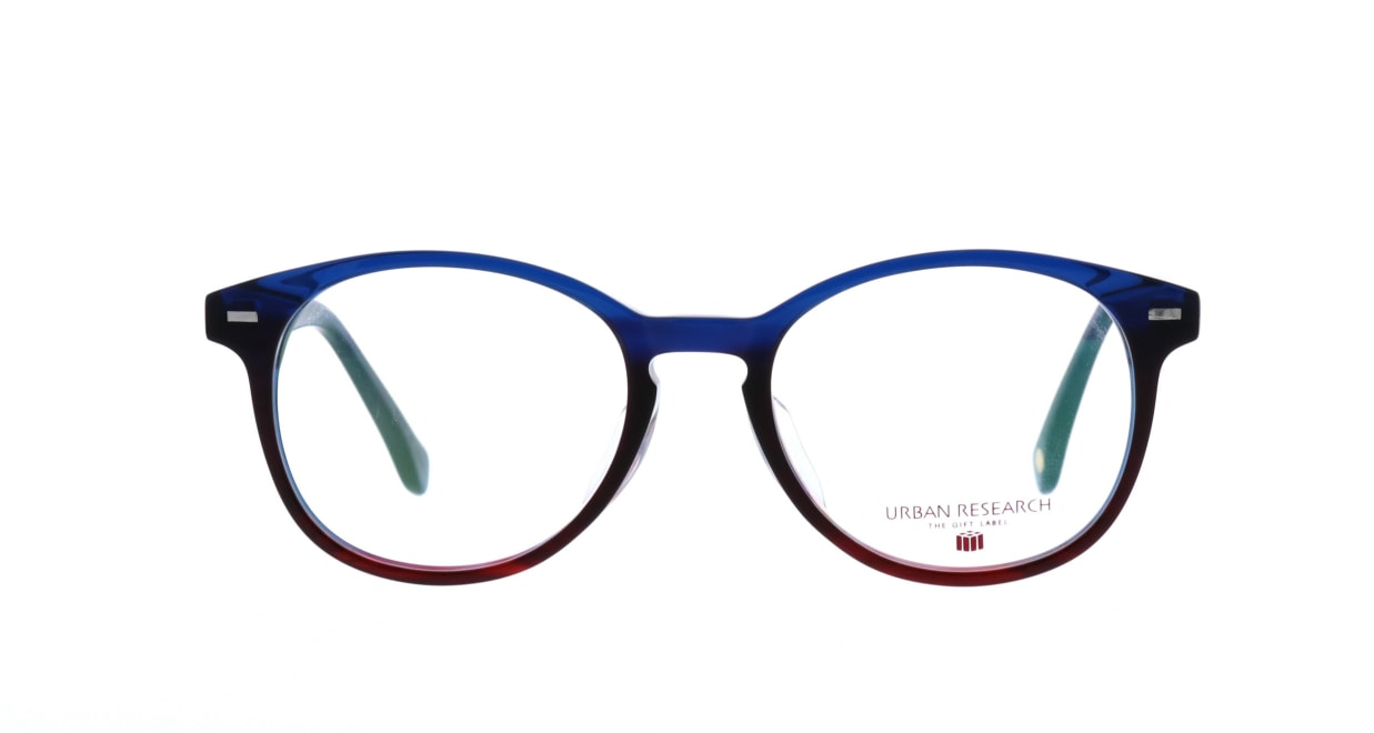 アーバンリサーチギフトレーベル URF-8006-3 [丸メガネ/安い/青]