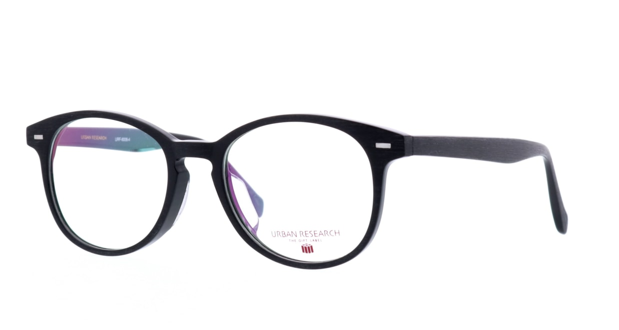 アーバンリサーチギフトレーベル URF-8006-4 [黒縁/丸メガネ]  1