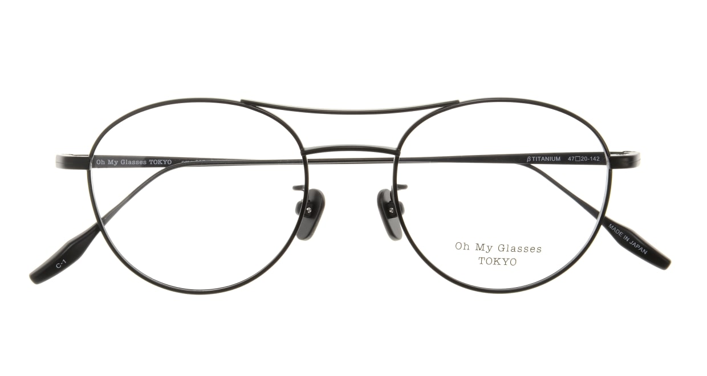 Oh My Glasses TOKYO Patrick omg-087-1-47 [メタル/鯖江産/丸メガネ]  3