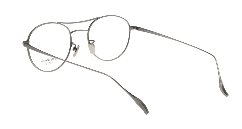 Oh My Glasses TOKYO Patrick omg-087-3-47 [メタル/鯖江産/丸メガネ/シルバー]  2
