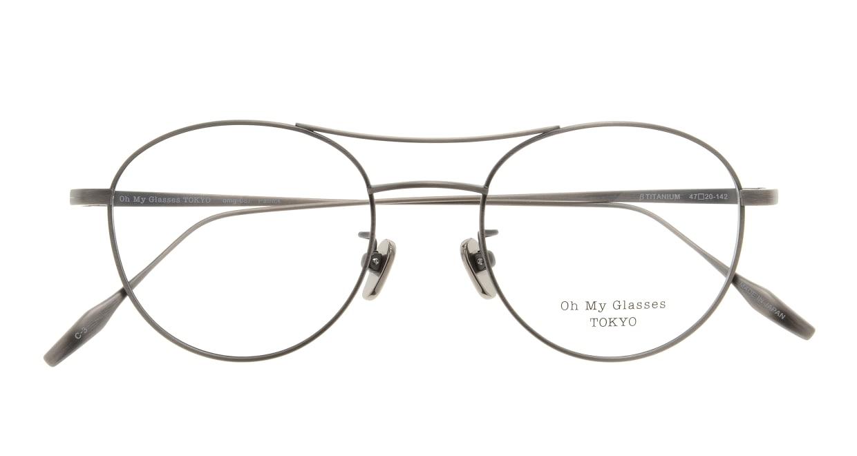 Oh My Glasses TOKYO Patrick omg-087-3-47 [メタル/鯖江産/丸メガネ/シルバー]  3
