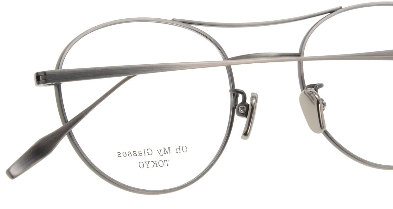 Oh My Glasses TOKYO Patrick omg-087-3-47 [メタル/鯖江産/丸メガネ/シルバー]  4