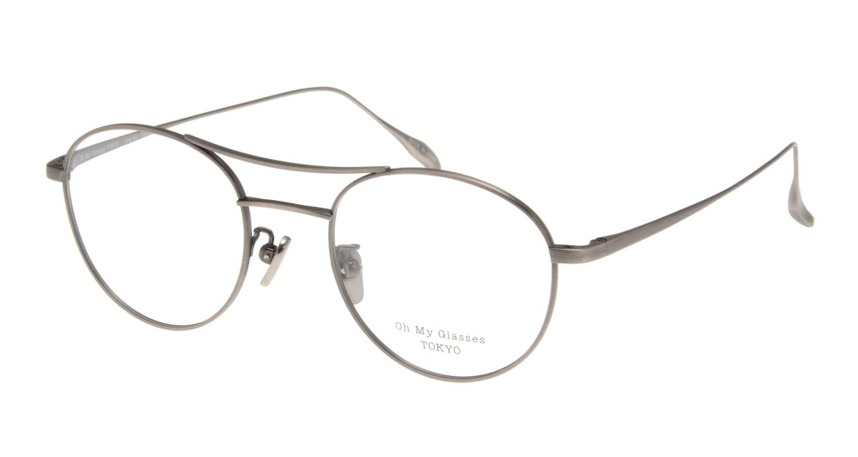 Oh My Glasses TOKYO Patrick omg-087-4-47 [メタル/鯖江産/丸メガネ/茶色]