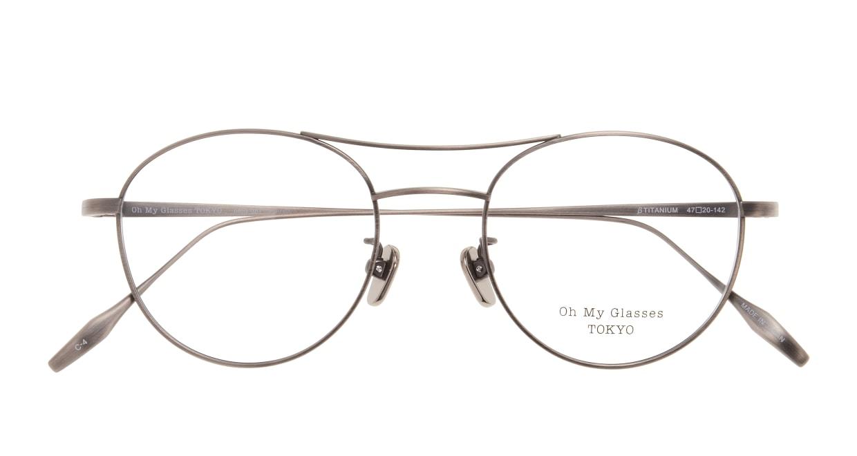 Oh My Glasses TOKYO Patrick omg-087-4-47 [メタル/鯖江産/丸メガネ/茶色]  3