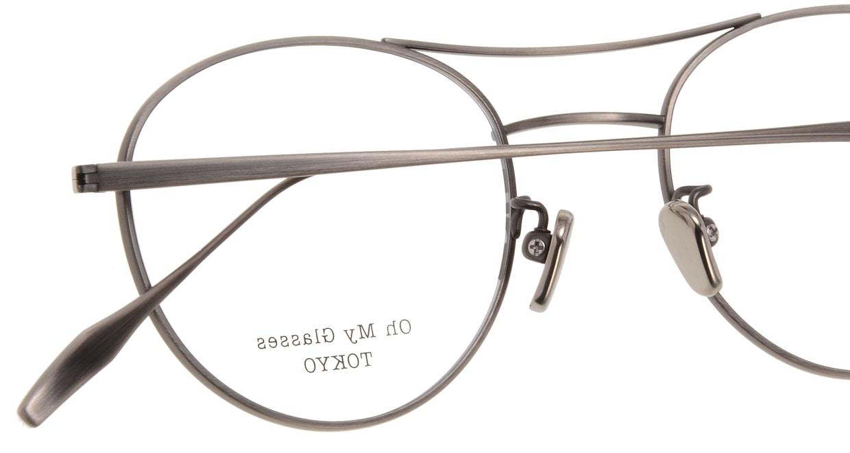Oh My Glasses TOKYO Patrick omg-087-4-47 [メタル/鯖江産/丸メガネ/茶色]  4