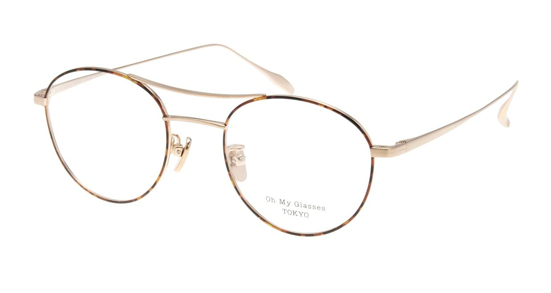 Oh My Glasses TOKYO Patrick omg-087-5-47 [メタル/鯖江産/丸メガネ/べっ甲柄]