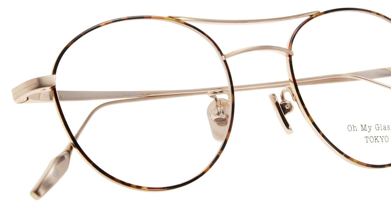 Oh My Glasses TOKYO Patrick omg-087-5-47 [メタル/鯖江産/丸メガネ/べっ甲柄]  4
