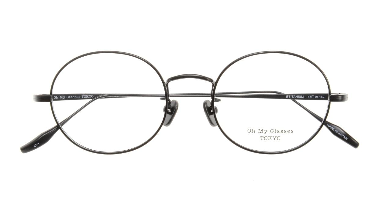 Oh My Glasses TOKYO Lia omg-088-1-48 [メタル/鯖江産/丸メガネ]  3