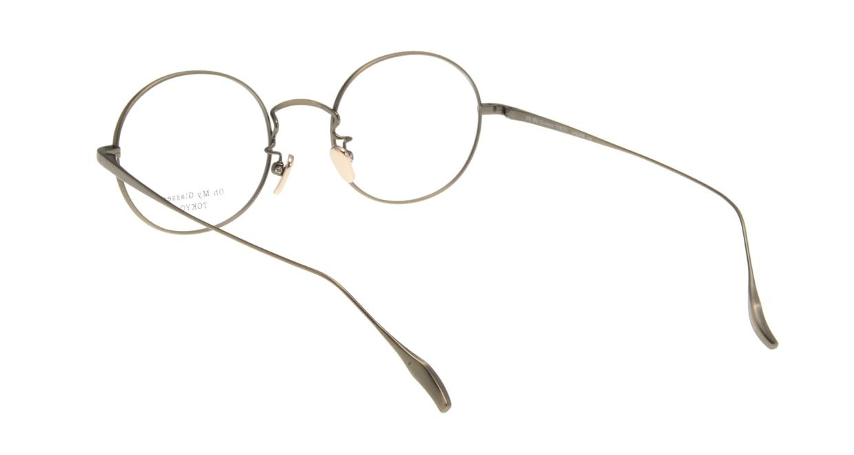 Oh My Glasses TOKYO Lia omg-088-2-48 [メタル/鯖江産/丸メガネ/ゴールド]  2