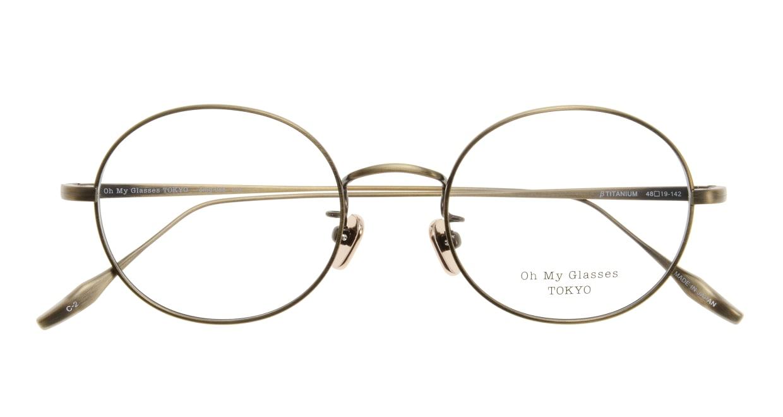 Oh My Glasses TOKYO Lia omg-088-2-48 [メタル/鯖江産/丸メガネ/ゴールド]  3