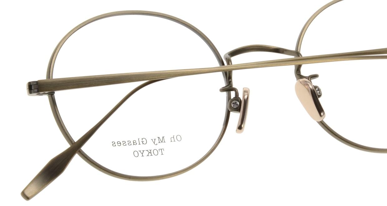 Oh My Glasses TOKYO Lia omg-088-2-48 [メタル/鯖江産/丸メガネ/ゴールド]  4
