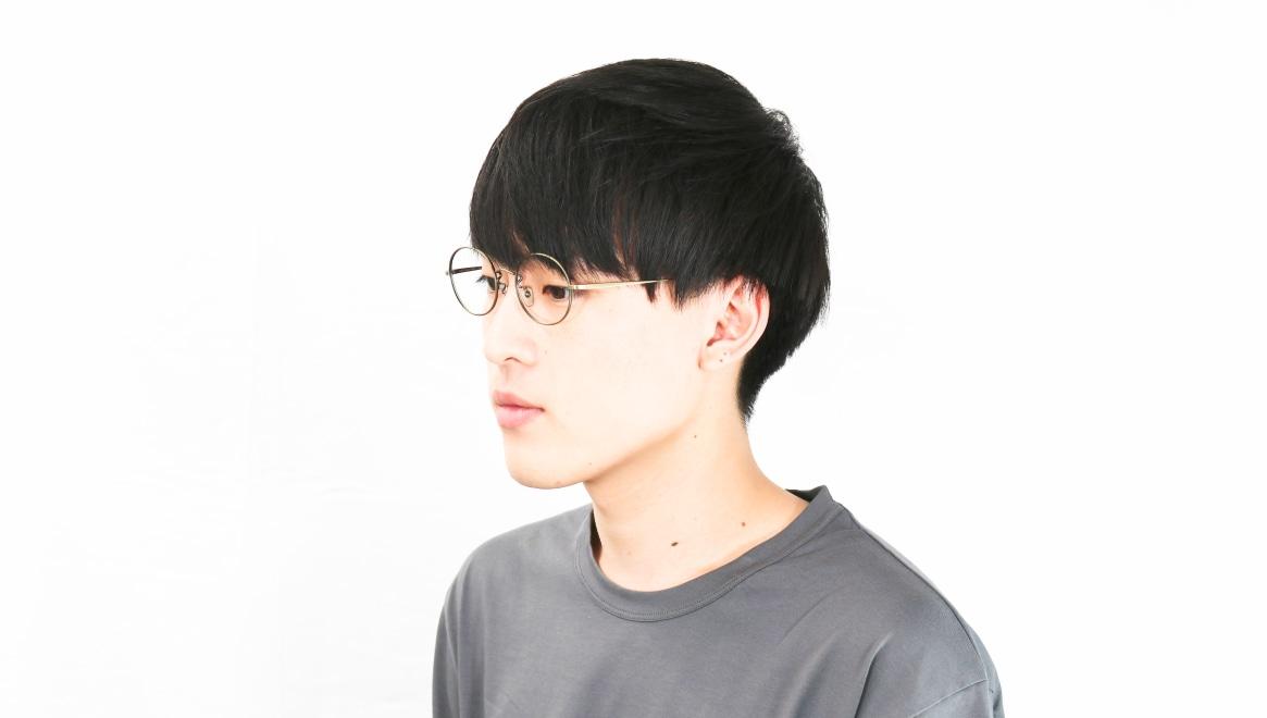 Oh My Glasses TOKYO Lia omg-088-2-48 [メタル/鯖江産/丸メガネ/ゴールド]  6