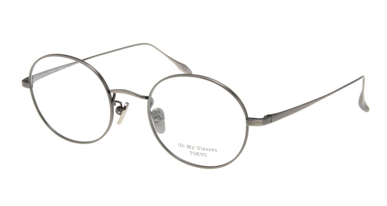 Oh My Glasses TOKYO Lia omg-088-3-48 [メタル/鯖江産/丸メガネ/シルバー]