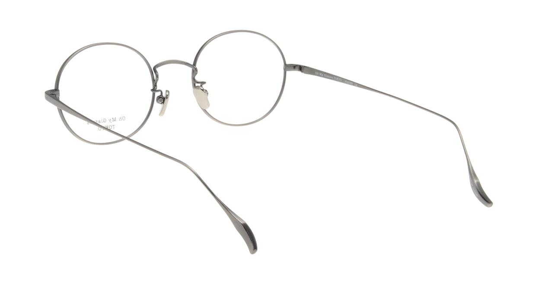 Oh My Glasses TOKYO Lia omg-088-3-48 [メタル/鯖江産/丸メガネ/シルバー]  2