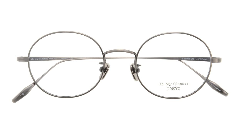 Oh My Glasses TOKYO Lia omg-088-3-48 [メタル/鯖江産/丸メガネ/シルバー]  3